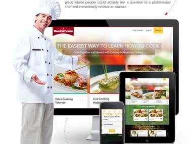 Cooksream marketing brochure
