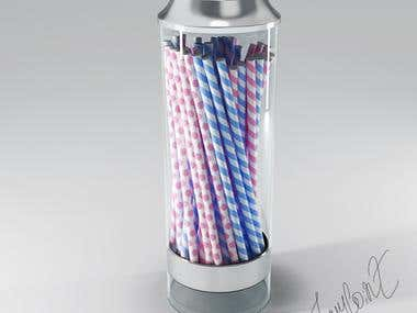 Candy Jar. Decor Element