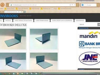 Pemilik dan Pengelola Webstore (Dropshipping)