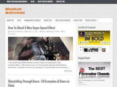 Bhushan Mahadani : How to learn Filmmaking Online