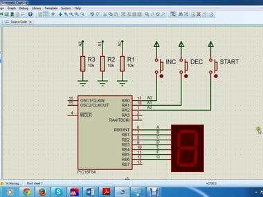 Quiz Buzzer System using PIC16F84