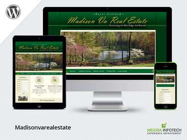 Real Estate Website with IDX