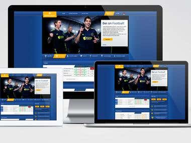 Web-Design for Sportbets