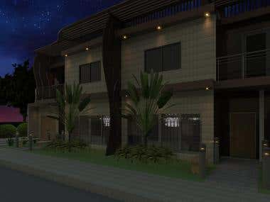 Row House\'s Render