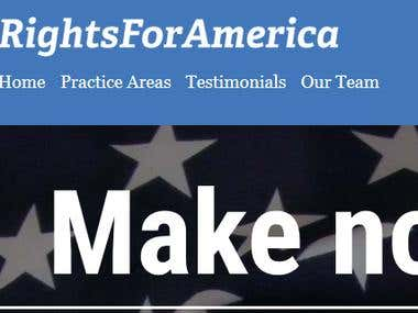 Rights For America