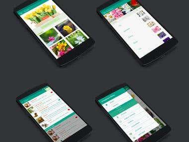 App design andorid