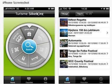 Tourism App (iOS)