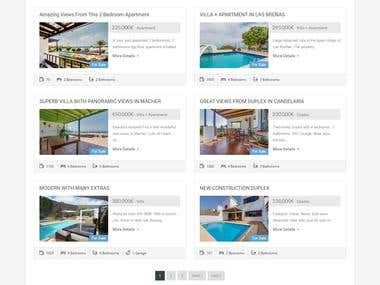 WordPress Responsive (Property Listing)
