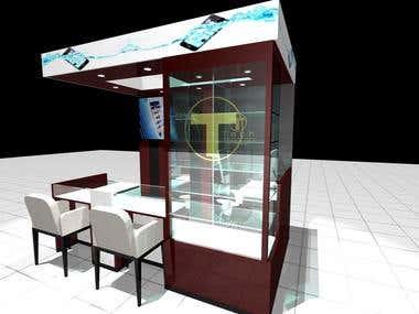 In-store Kiosk Design