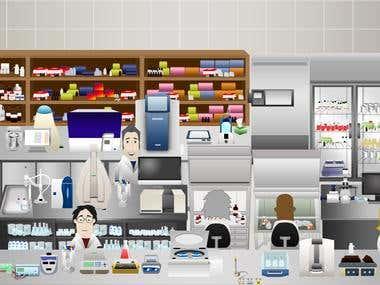 Laboratory game