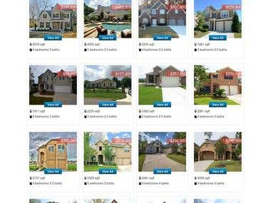 Custom Wordpress Property Dealer website