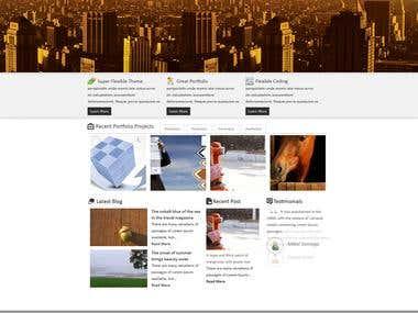 Creative Theme WordPress