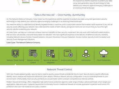 Cube Cyber Website