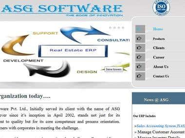 Website of Company