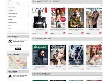 MagazineCafe - Online Shopping website