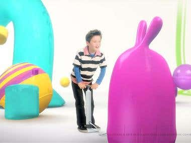 Disney Channel - Promo summer campaing