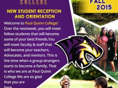 Orientation Welcome (Flyer)