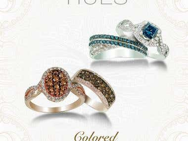 Hues Jewelry Flyer