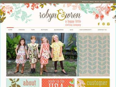 Online Cloth Store using Magento