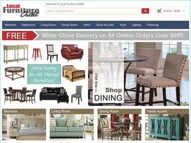 Responsive Magento eCommerce site creation