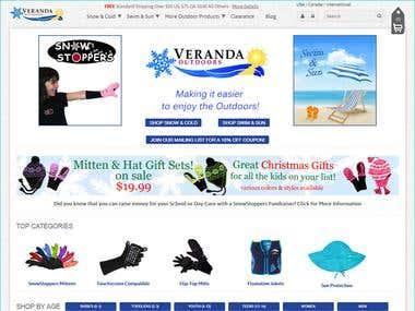 Online Store using Magento | Responsive theme customization