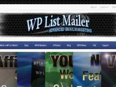 Wordpress: WpListMailer plugin