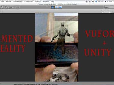 AuGMENTED REALITY +VUFORIA+UNITY 3D