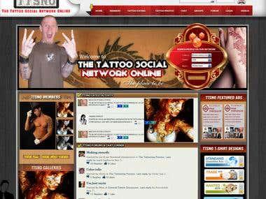Preston-Tatto-Design - PSD to HTML