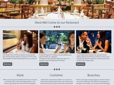 Resturant Theme1