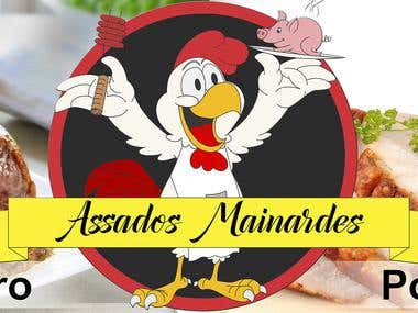 Logo Assados Mainardes