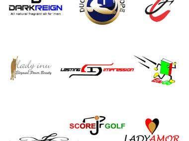 Set of 9 logos 3