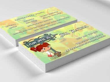 Business Card_ Speech Тherapist