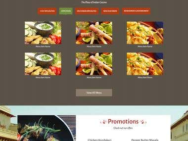 Reastaurant Website and POS development