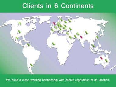 CSS Clients in 6 Continents