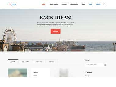 Website - Theme Customization