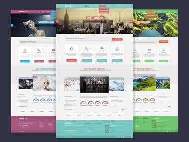 HTML Site Tempolate