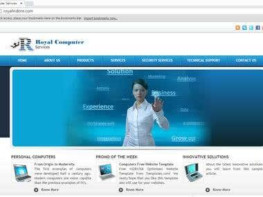 Client company profile
