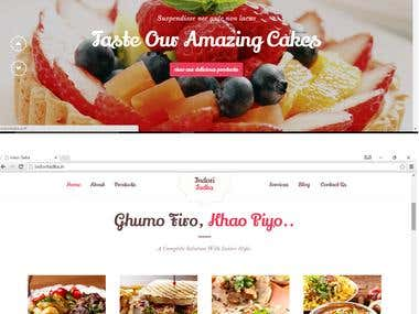 Indori Tadka Restaurant website