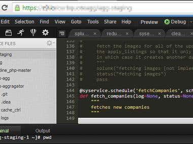 Cloud9 IDE (Python)