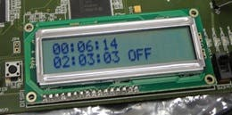 FPGA character LCD interface