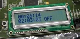 FPGA character LCD interface