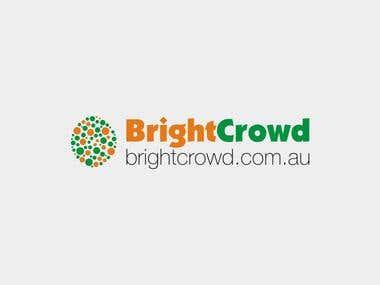 Australian BrightCrowd Logo [Winner]