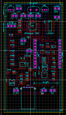 Industrial PCB layout for manufacturing purposes