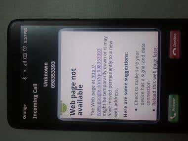 Call Interceptor Enterprise Android App
