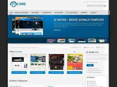 Joomla web design development