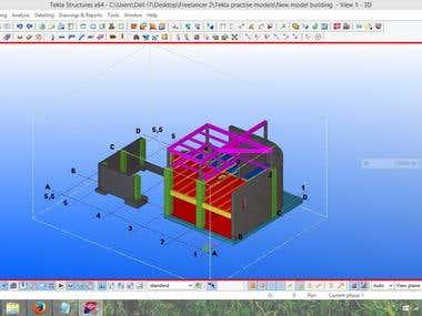 Tekla Structures modeling
