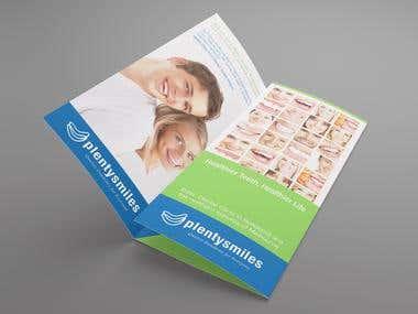 Brochure Design for a Dental Clinic