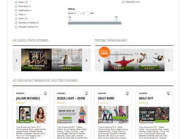 Customizing WordPress theme for Fitness Programs Review Site