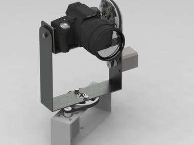 Pan/Tilt Camera Mount