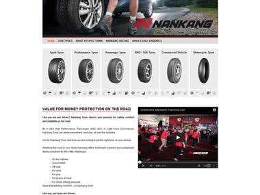 Nankangtyres (Wordpress)